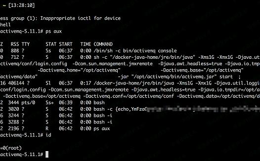 (CVE-2015-5254)ActiveMQ 反序列化漏洞